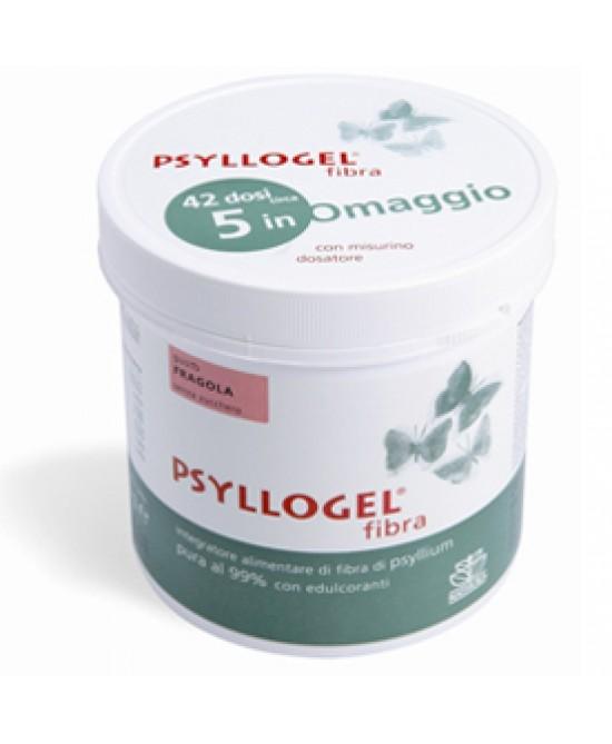 Psyllogel Fibra Fragola Vaso Integratore 170gr -