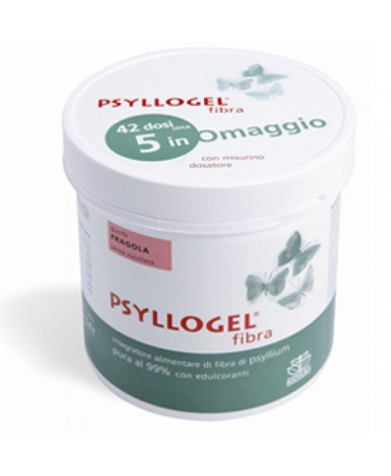 Psyllogel Fibra Fragola Vaso Integratore 170gr - Zfarmacia