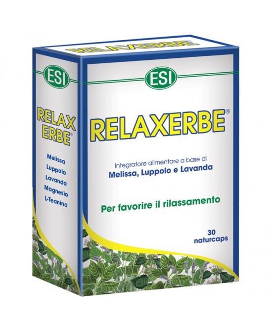 Esi Relaxerbe Integratore Alimentare 30 Capsule - La farmacia digitale