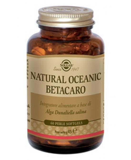 Solgar Natural Oceanic Betacaro 60 Perle - Farmacia 33