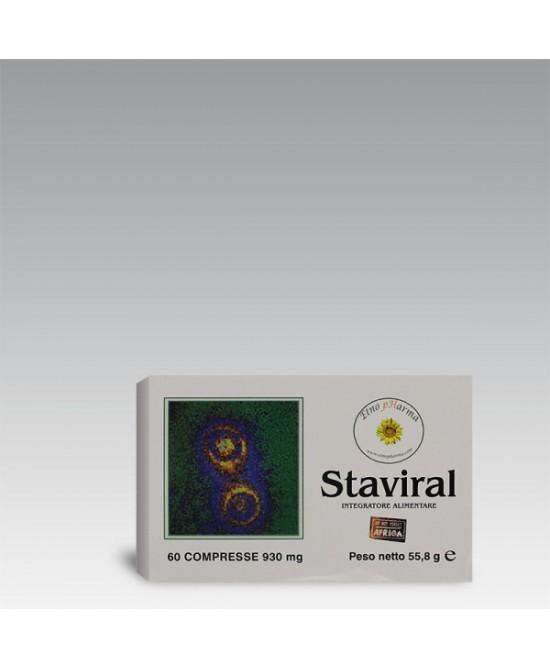 Etnopharma Staviral Integratore Alimentare 60 Compresse 56g