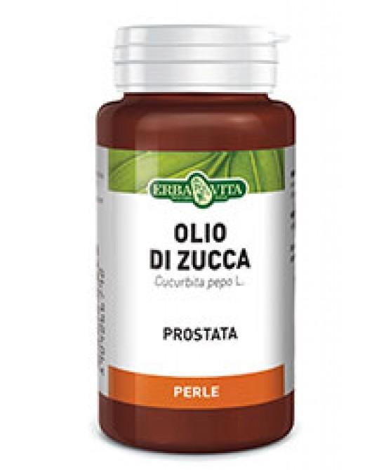 ErbaVita Perle Olio Di Zucca 50 Perle - Farmacia 33