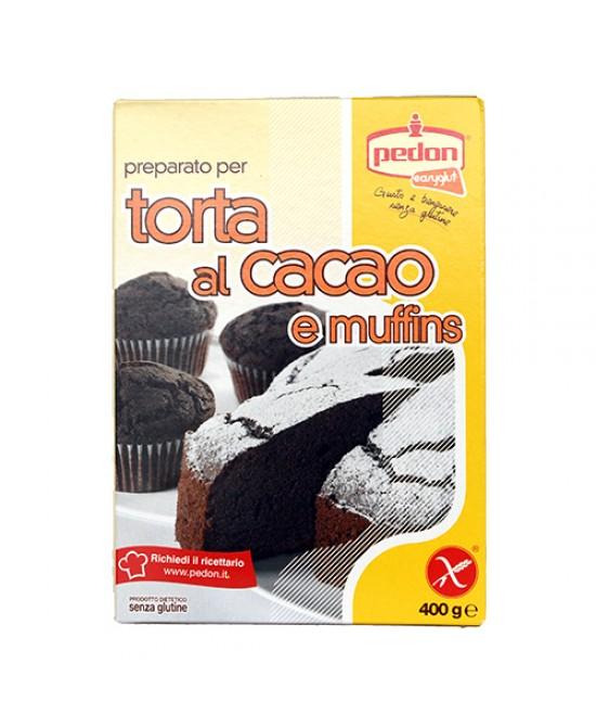 Easyglut Preparato Per Torta Al Cacao E Muffins Senza Glutine 400g - Farmajoy