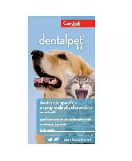 Dentalpet Kit 50ml+spr50ml+dit - Farmafamily.it