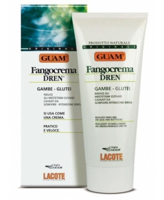 Guam Fango Crema Drenante Gambe e Glutei 200 ml - latuafarmaciaonline.it