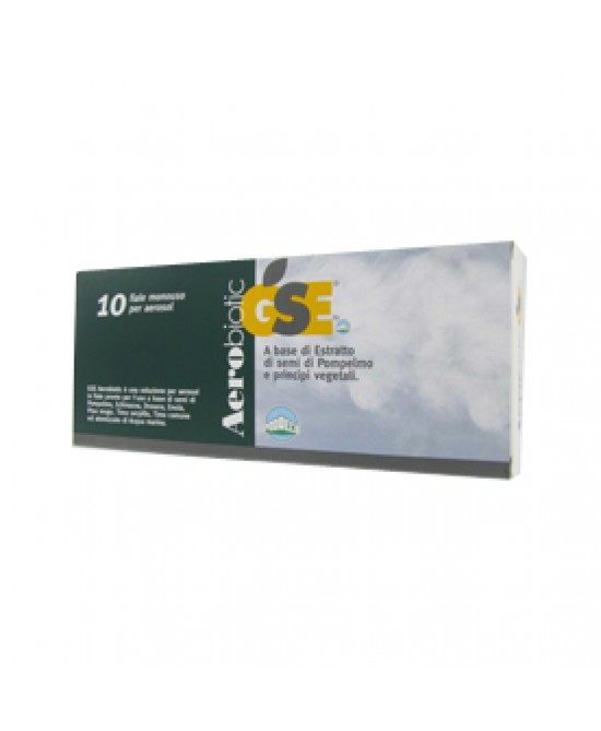 Gse Aerobiotic Soluzione per Aerosol 10 Flaconi da 5 ml - Farmastar.it