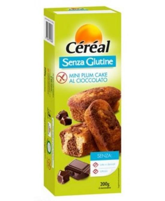 Céréal Mini Plum Cake Al Cioccolato Senza Glutine 200g - Farmajoy