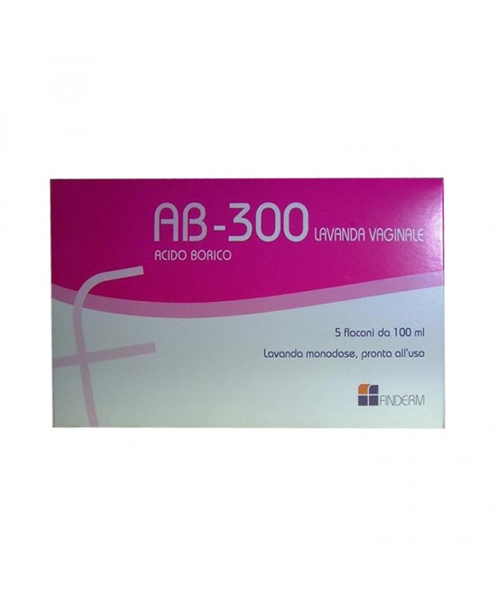 Finderm Ab-300 Lavanda Vaginale 5 Flaconi 140ml - Farmapage.it