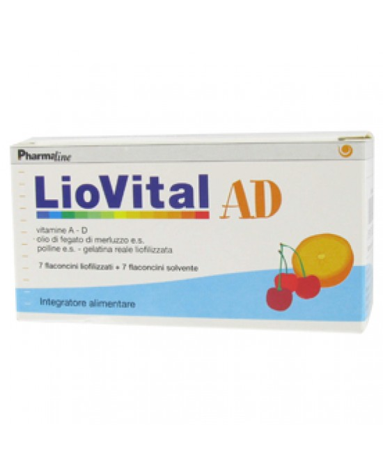 Liovital Ad 7fl 61,6g - Farmabros.it