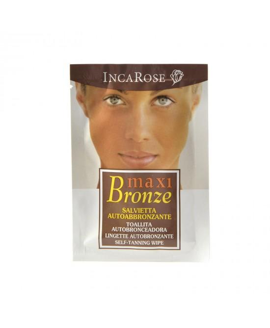 IncaRose Maxi Bronze Salvietta Autoabbronzante Monouso - Farmaciaempatica.it