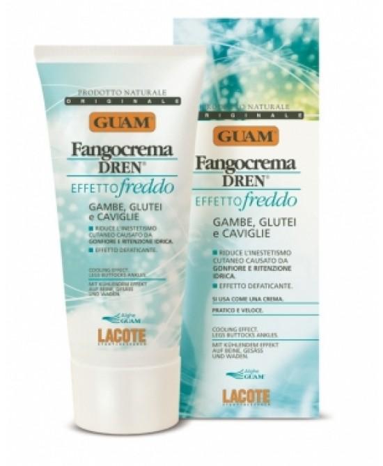 Guam Fangocrema Dren Effetto Freddo 200ml - La farmacia digitale