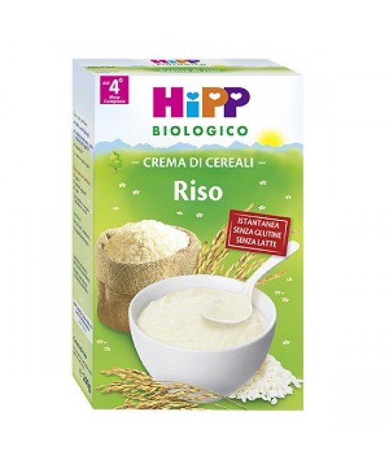 HiPP Biologico Creme Ai Cereali Riso 200g - Farmawing