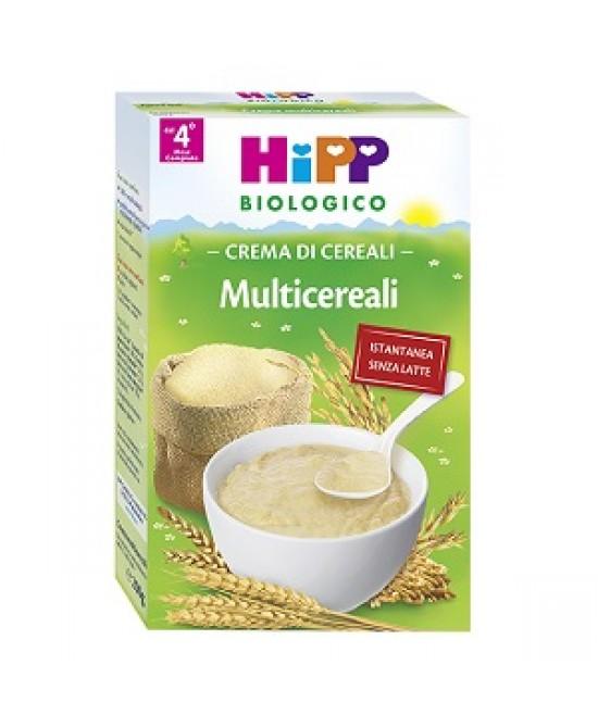 HiPP Biologico Creme Ai Cereali Multicereali  200g - Farmabellezza.it