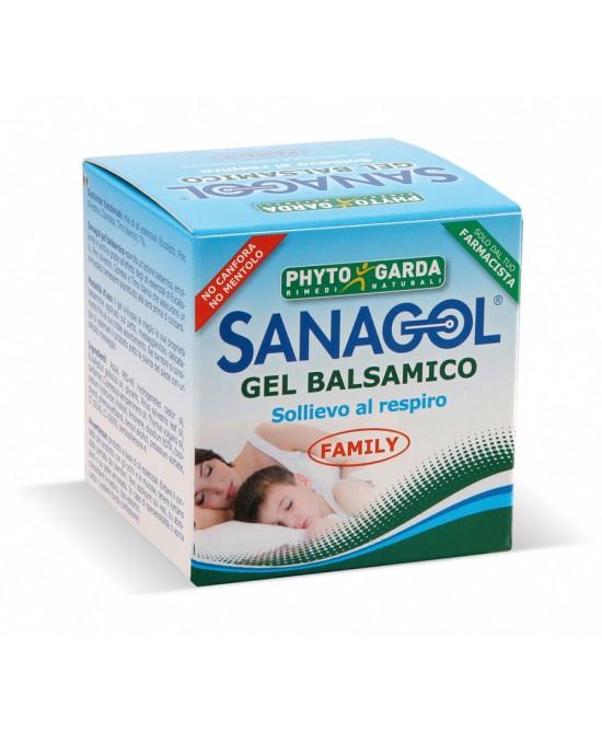 Phyto Garda Sanagol Gel Balsamico Senza Canfora E Senza Mentolo 50ml - FARMAPRIME