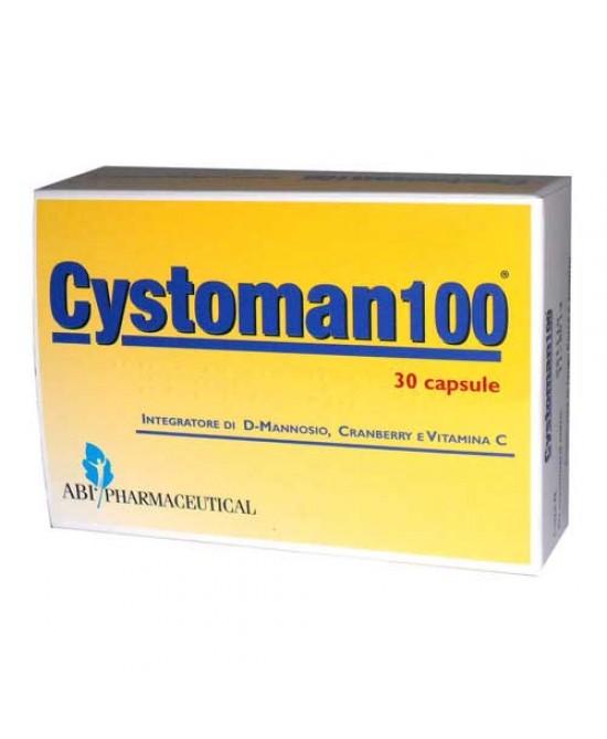 Cystoman 100 30cps - Zfarmacia