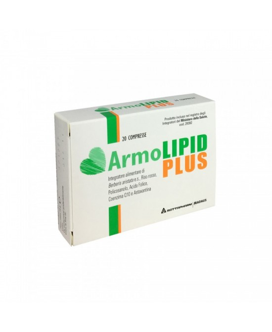 Rottapharm ArmoLipid Plus Integratore Alimentare 20 Compresse - Farmapc.it