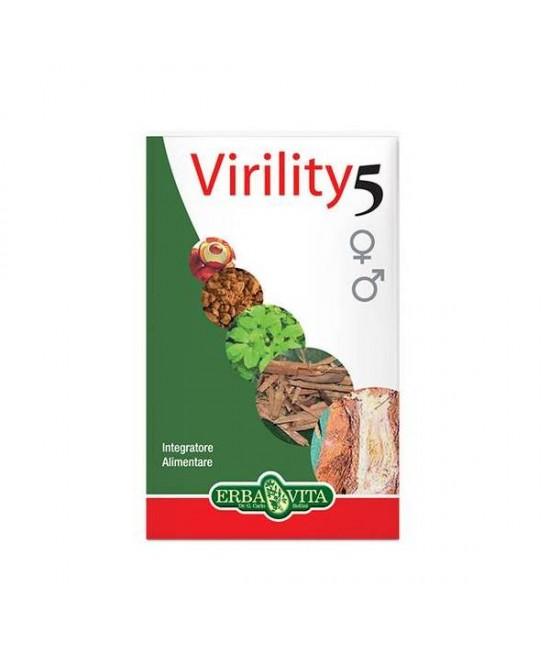 ErbaVita Virility 5 Integratore Alimentare 60 Capsule - La farmacia digitale