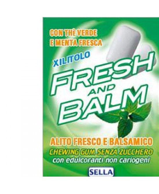 Fresh And Balm Chewing Gum 28g - Farmia.it