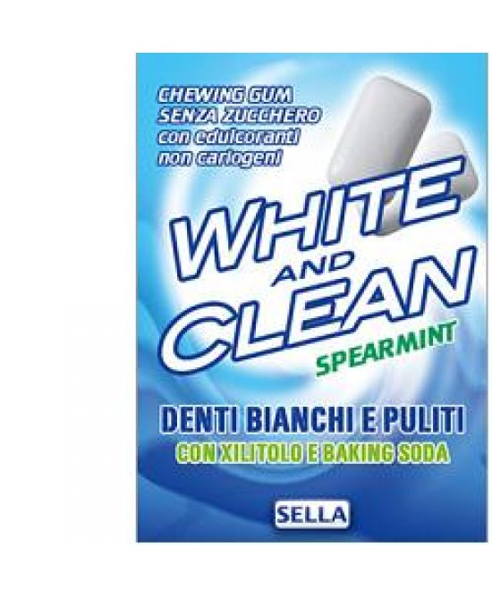 White And Clean Chewing Gum 28 - Farmia.it