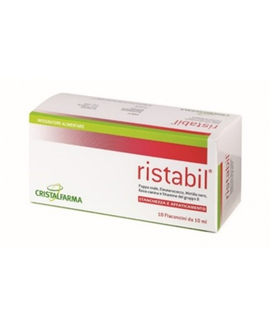 Ristabil 10fl 10ml - Farmaciaempatica.it