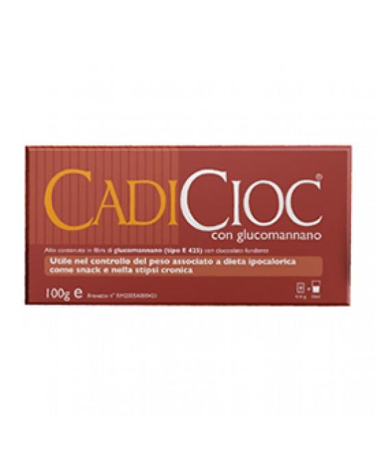 Cadicioc Fondente Tavoletta Di Cioccolato Con Glucomannano 100 g