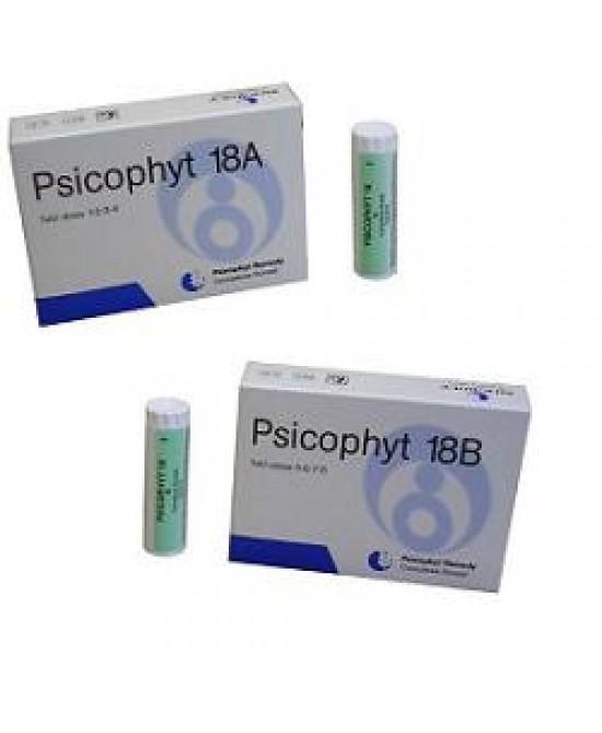 Biogroup Psicophyt Remdy 18 A 4 Tubi di Globuli
