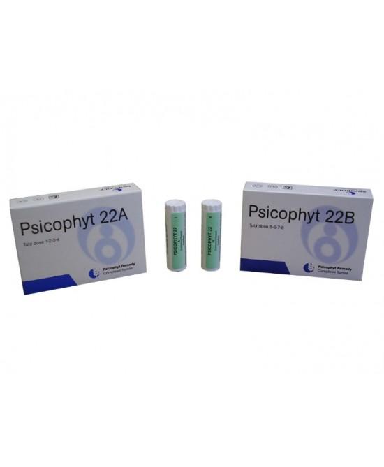 Psicophyt Remedy 22 A  4 Tubi di Globuli