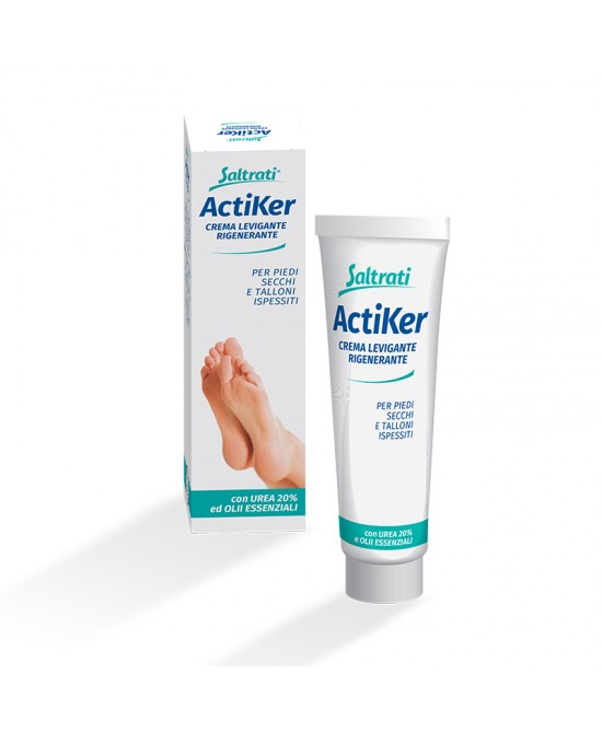 Saltrati ActiKer Crema Levigante Rigenerante 100ml - Spacefarma.it