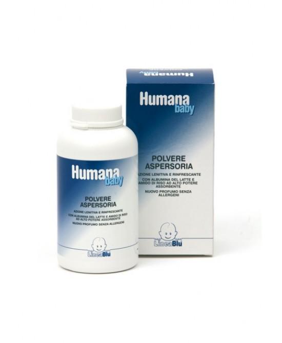 Humana LineaBlu Polvere Aspersoria Baby 150g - Zfarmacia