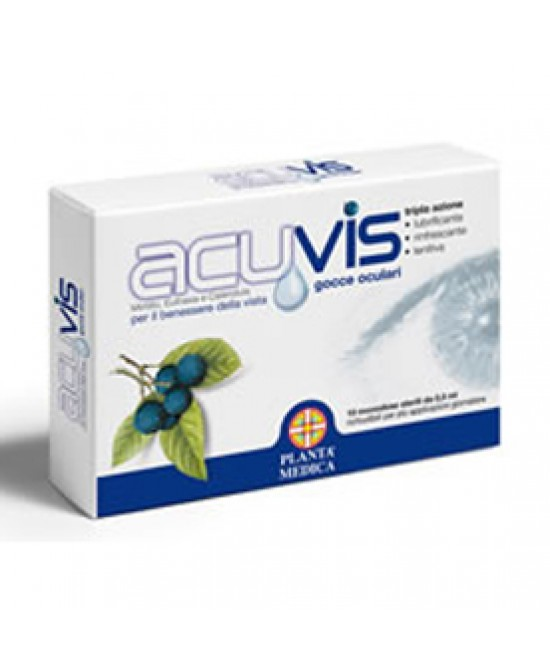 Acuvis Gocce Oculari 10 Flaconi Da 0,5ml - Farmafamily.it
