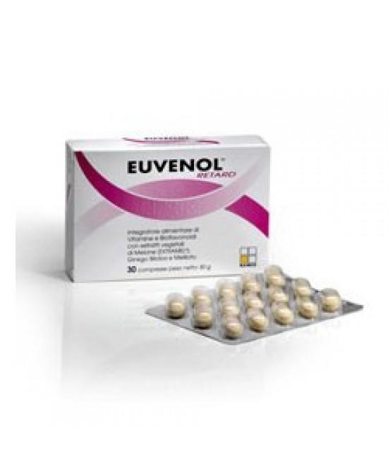 Named Euvenol Retard Integratore Alimentare 30 Compresse - Farmabellezza.it