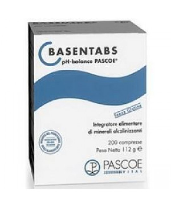 Named Basentabs-Pascoe Integratore Alimentare 200 Compresse - FARMAPRIME