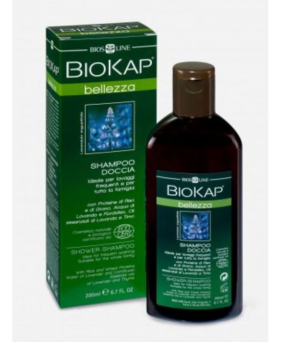 Bios Line Biokap Shampoo Doccia Certificato Eco-biologico 200ml
