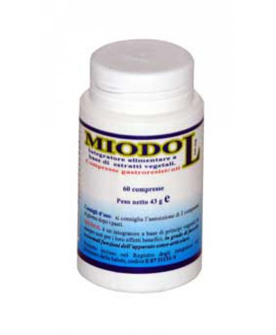 Miodol Integratore Alimentare 60 Compresse - Farmastar.it