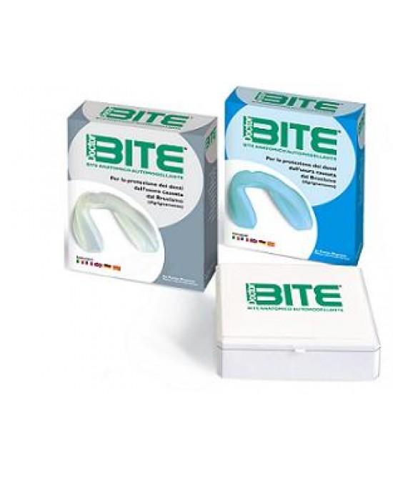 Doctor Bite Dentale Azzurro Anatomico Automodellante 1 Pezzo