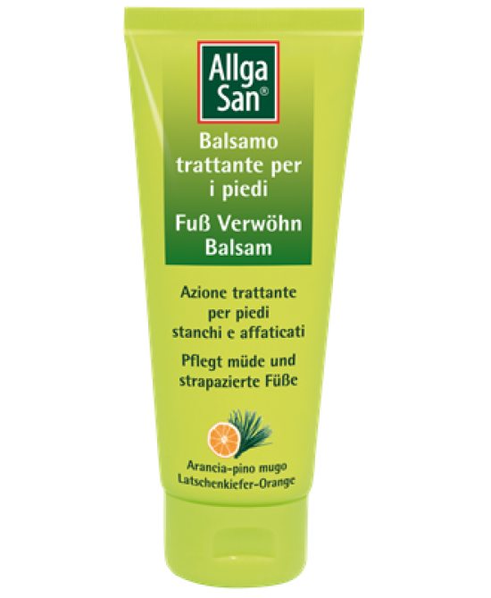 Allga San Balsamo Trattante Piedi  100ml - Farmafamily.it