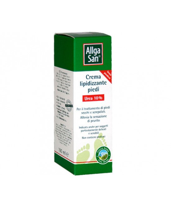AllgaSan Crema Lipidizzante Piedi All' Urea 10% 100ml - Speedyfarma.it