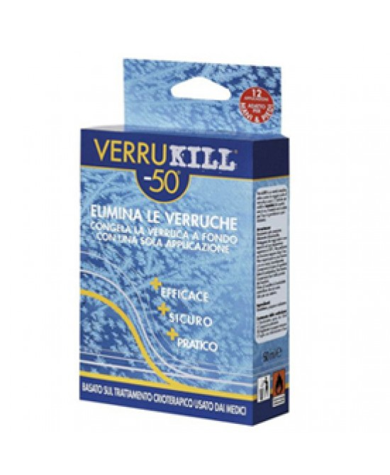 Verrukill Spr Crioterapico50ml - Farmafamily.it
