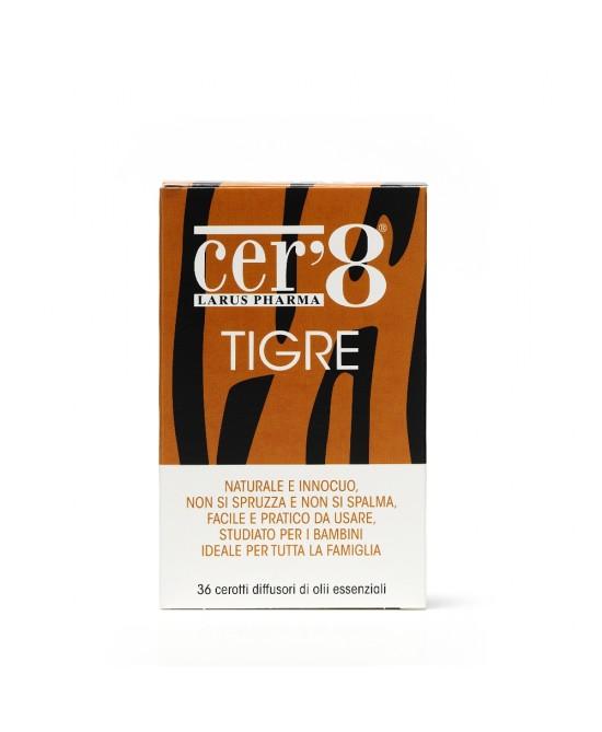 Larus Pharma Cer'8 Tigre Diffusori Di Oli Essenziali 36 Cerotti - Farmafamily.it