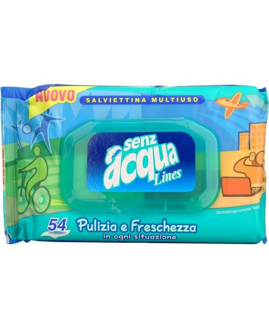 Lines Senzacqua Salviettine 54 Pezzi - La tua farmacia online