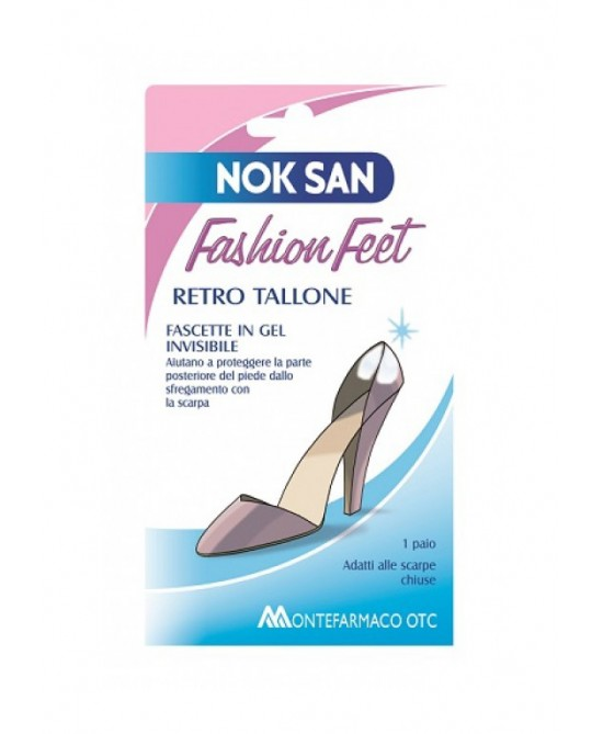 Nok San Fashion Feet Fascetta Per Retro Tallone 1 Paio - Farmapage.it