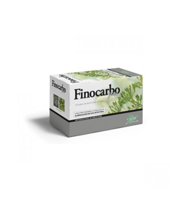 Aboca Finocarbo Plus Tisana 20 Bustine Da 2g - Farmaciaempatica.it