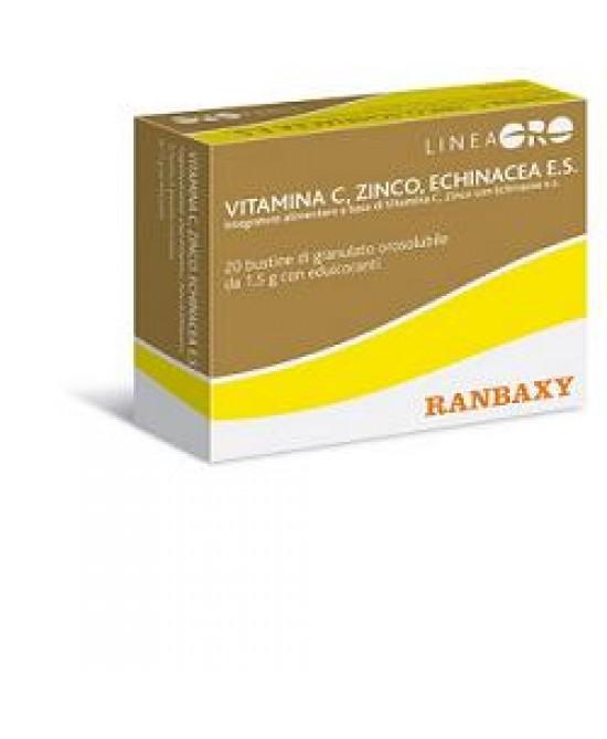 Oro Ranbaxy Vitamina C/Zinco/Echinacea 20x1,5 - FARMAEMPORIO