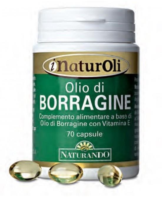 Olio Di Borragine Integratore Alimentare 70 Capsule - Parafarmacia Tranchina