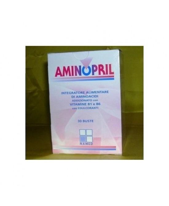 Named Aminopril Integratore alimentare di Aminoacidi 30 Bustine