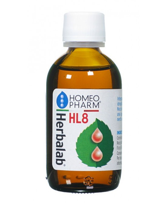 Herbalab HL8 Gocce Integratore Alimentare 50ml - Farmabros.it