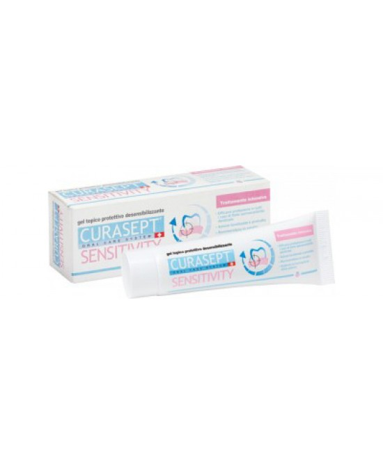 Curasept Sensitivity Gel Topico Dolori Dentali 30 ml