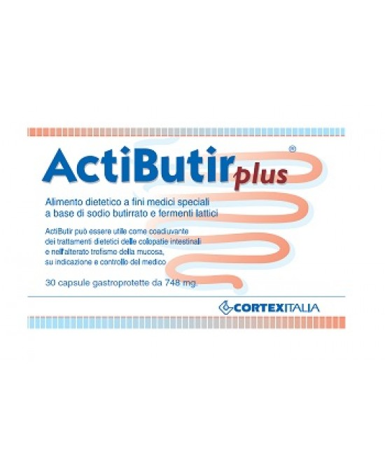Actibutir Plus 30cps 21,7g - Farmafamily.it
