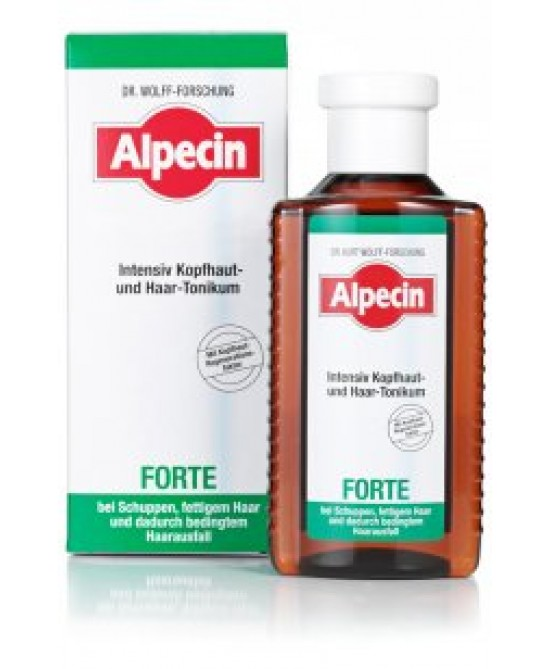 Alpecin Forte Tonico Intensivo Antiforfora 200ml - Farmafamily.it