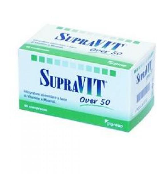 Supravit Over 50 Integratore Vitaminico 60 Compresse